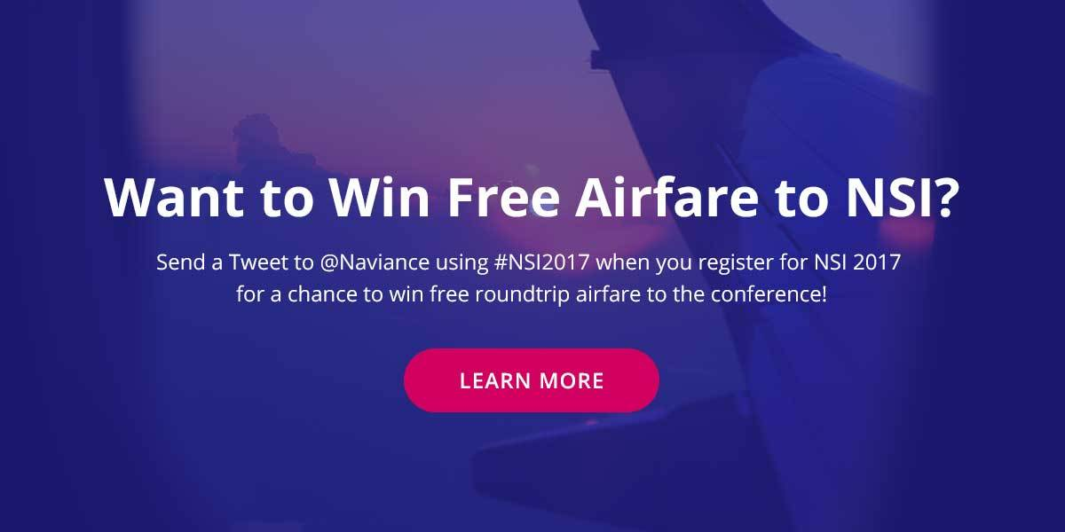 Want to win free airfare to NSI? Learn how.