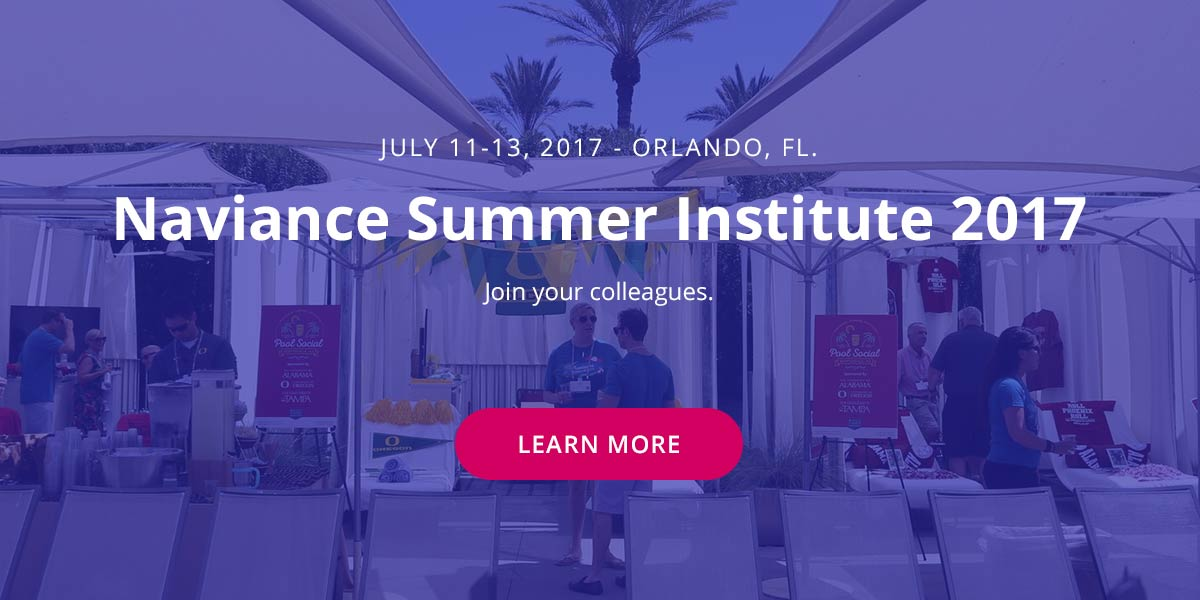 Join your colleagues at Naviance Summer Institute 2017