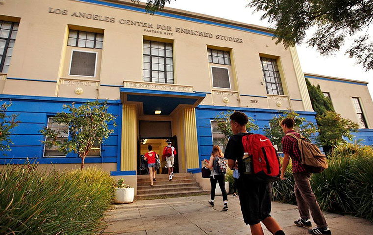 These 10 high schools are the best in L.A. Unified at getting their graduates to college