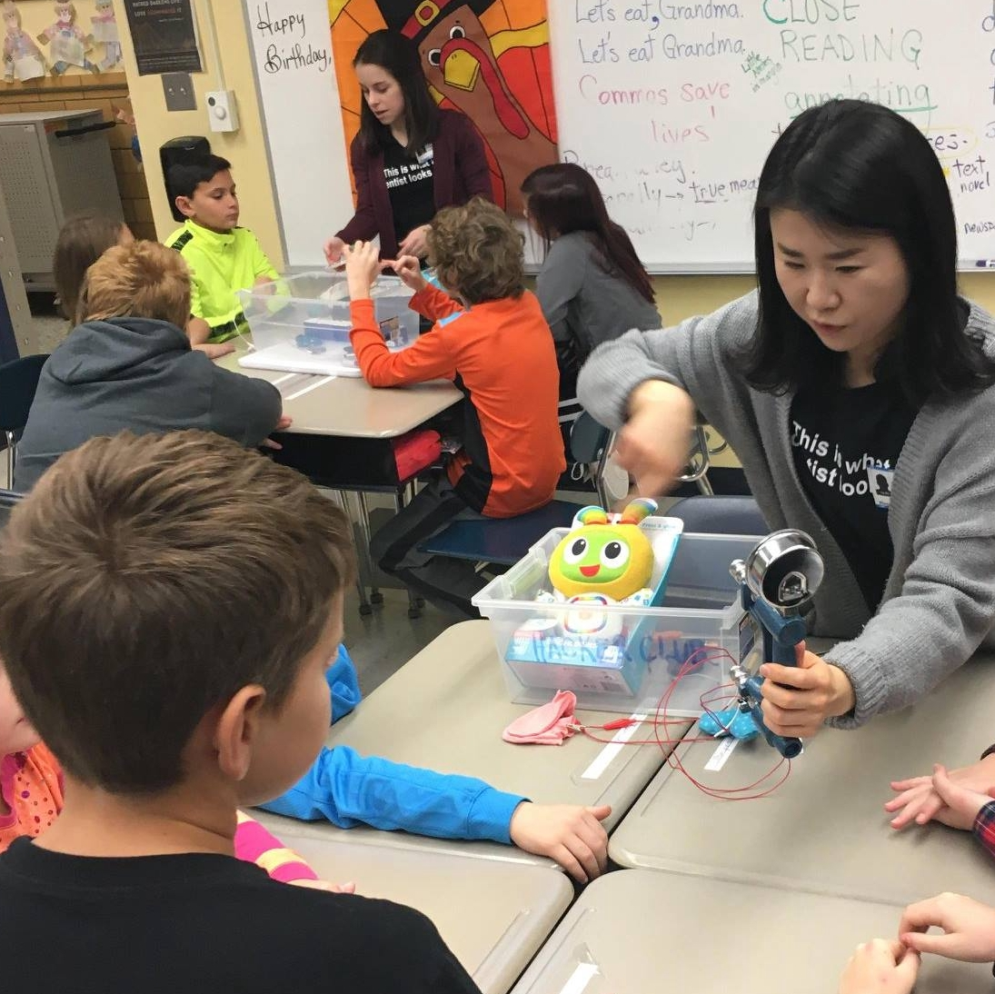 Promoting STEM in local K-12 schools