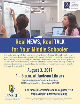 Real Talk, Real News Workshop
