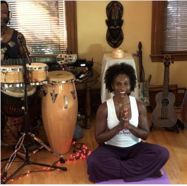 Afro Flow Yoga - Virtual Series Spring 2021