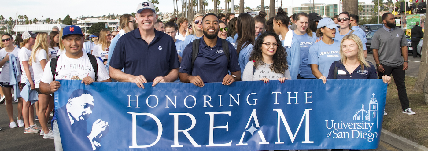 University of San Diego Banner