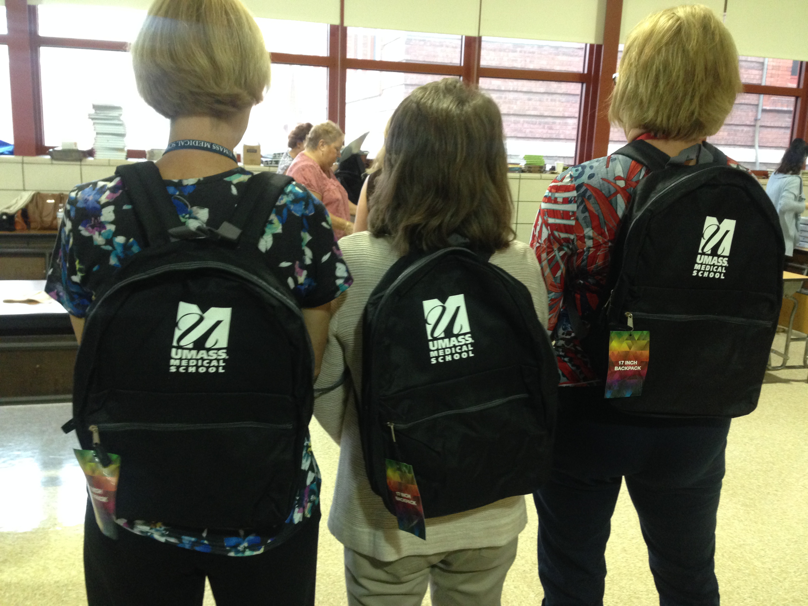Backpack Initiative for Worcester Public Elementariy Schools in the North Quadrant
