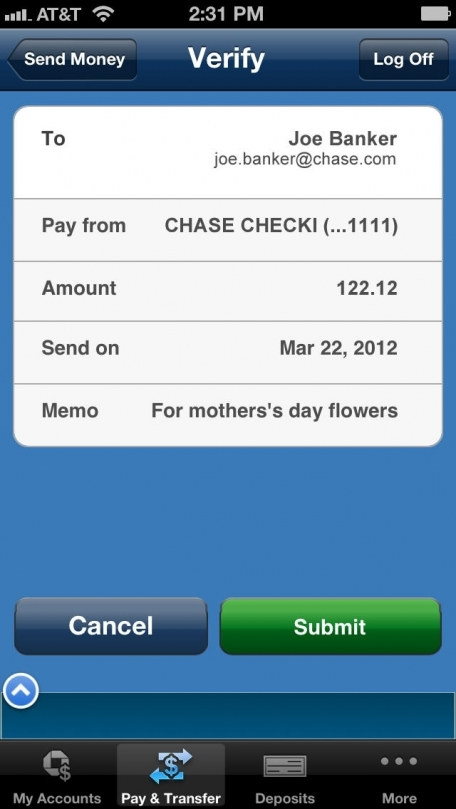 My Account Chase App