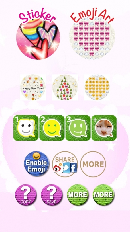 Love Stickers Emoji Art For Valentines Day Messages Social