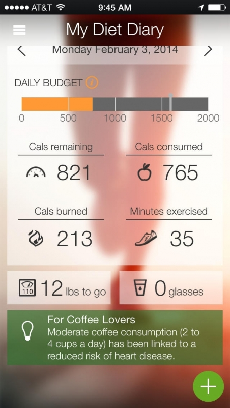 my diet diary calorie counter weight log exercise and fitness