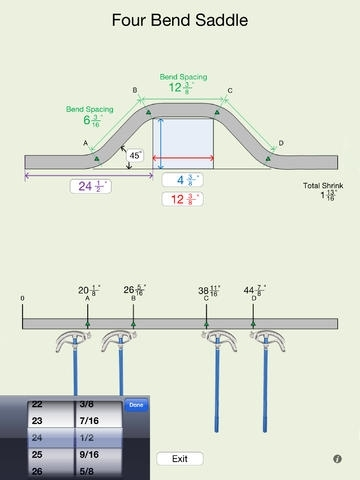 BENDING CONDUIT FORMULAS