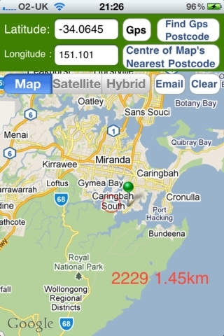 What is my Australian postcode ? Navigation App Review (iOS, $0 99