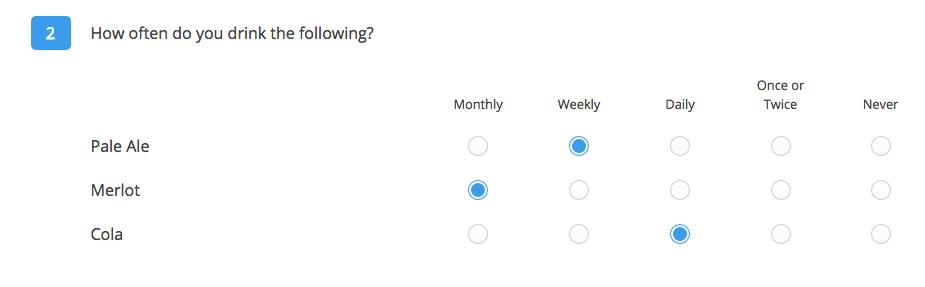 Piping Q2 survey