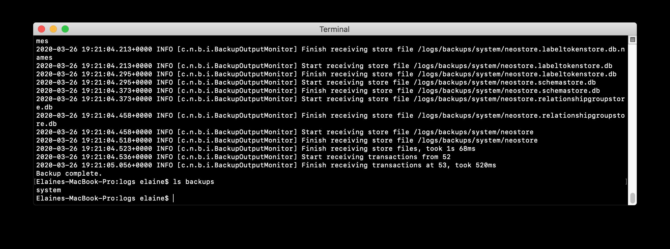 BackupSystemDocker