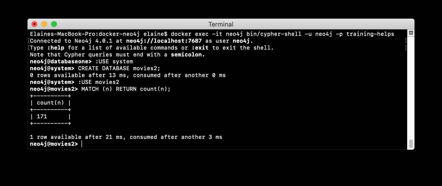 Verify-neo4j-adminCopyDocker