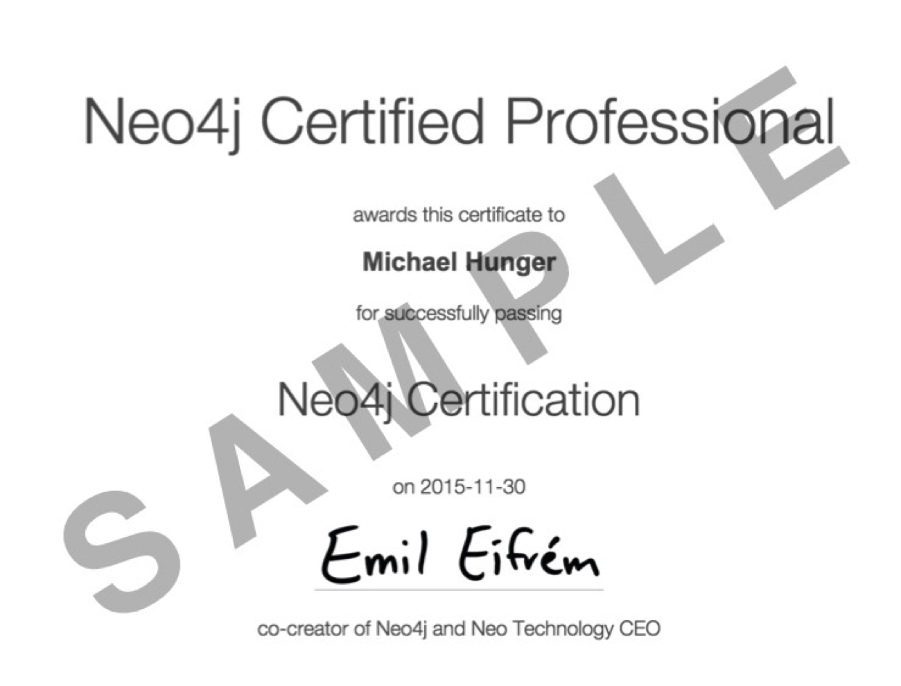 Learn about the First-Ever Neo4j Certification Now Available to Graph Database Professionals