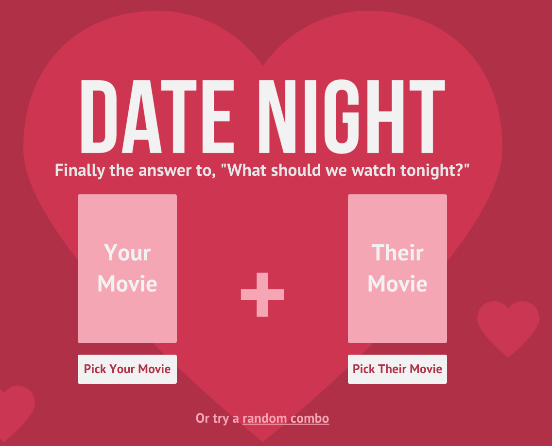 dating community date night