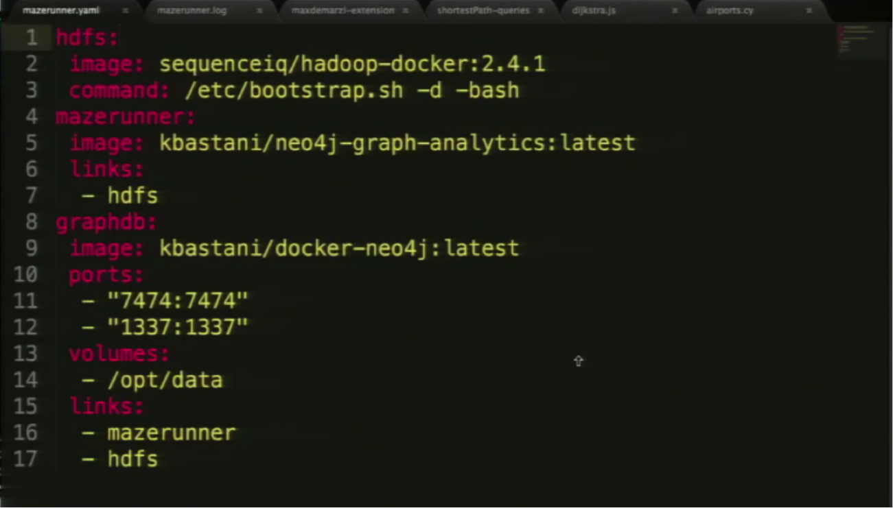 The Mazerunner Installation in Docker Compose