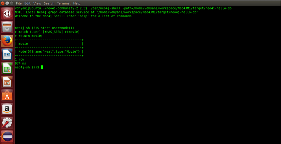 The Neo4j Shell Command Line Interface (CLI)
