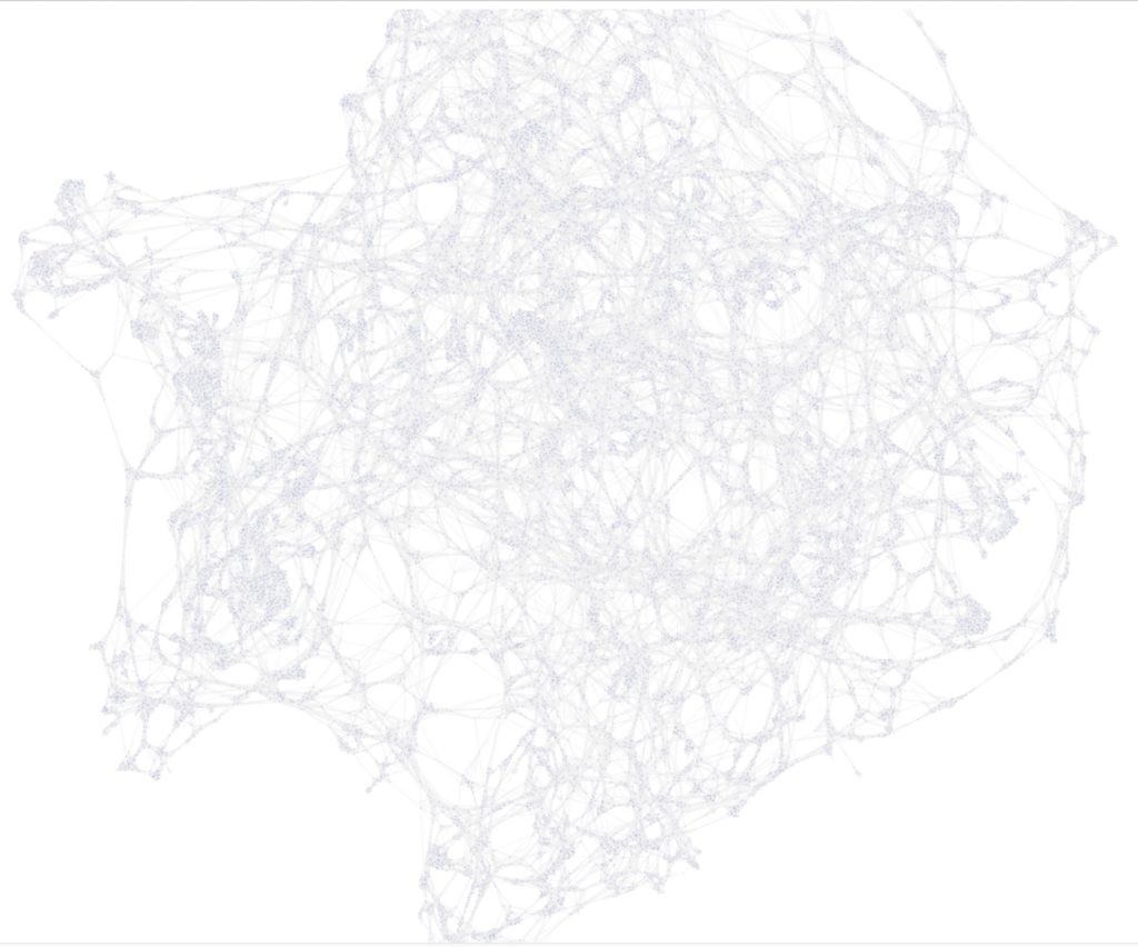 A Neo4j Graph Visualization of the Cosmic Web