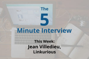 Catch This Week's 5-Minute Interview with Jean Villedieu, Co-Founder of Linkurious