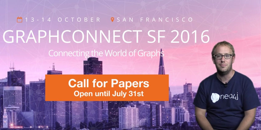 Learn about the open Call for Papers (CFP) at GraphConnect San Francisco and submit your talk today