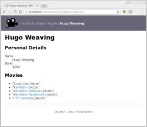 The sample movie web app that comes with py2neo 3.1