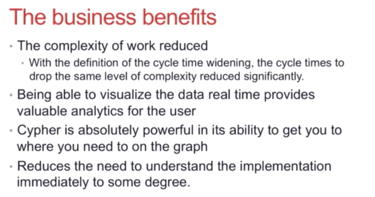 The business benefits of switching to Neo4j