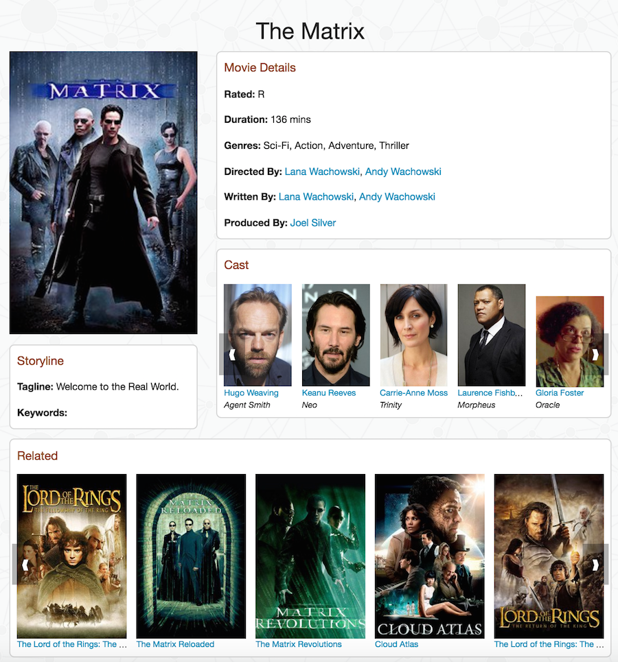 A sample movie app using JavaScript and Neo4j
