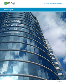 How Neo4j Co-exists with Oracle RDBMS