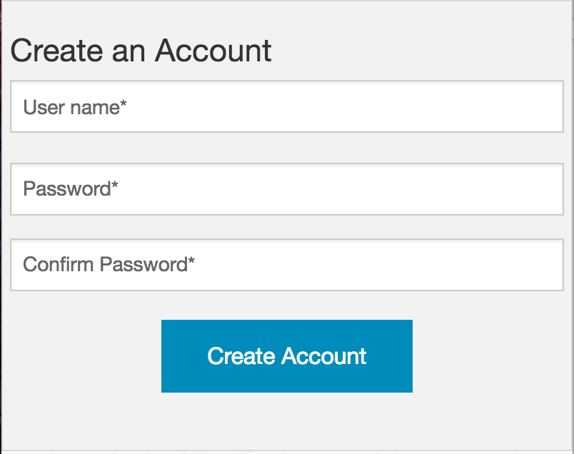 Create a new user account in the Neo4j Movie App