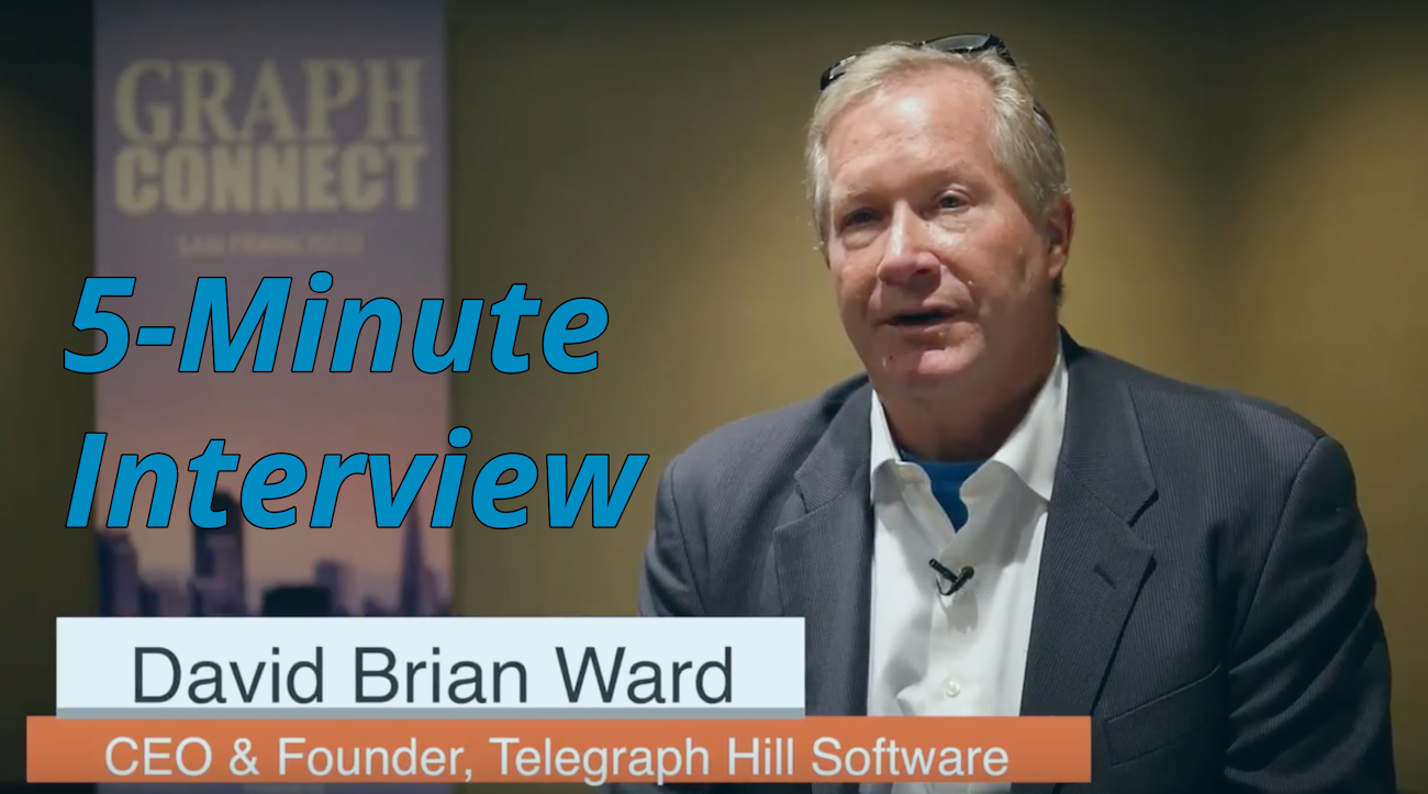Catch this week's 5-Minute Interview with David Ward, CEO and Founder at Telegraph Hill Software