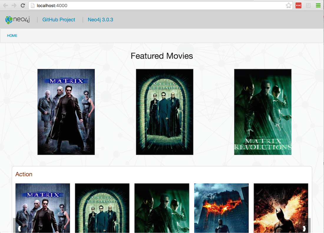 Just for Flask & React js Developers: A New Neo4j Movies