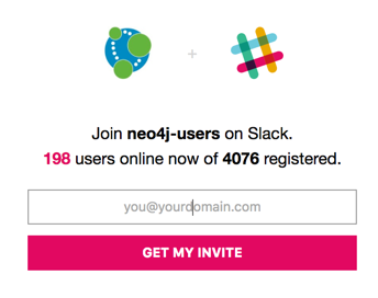 The Neo4j-users Slack community this week