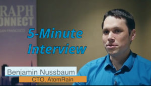 Catch this week's 5-Minute Interview with Benjamin Nussbaum, Co-Founder of GraphGrid