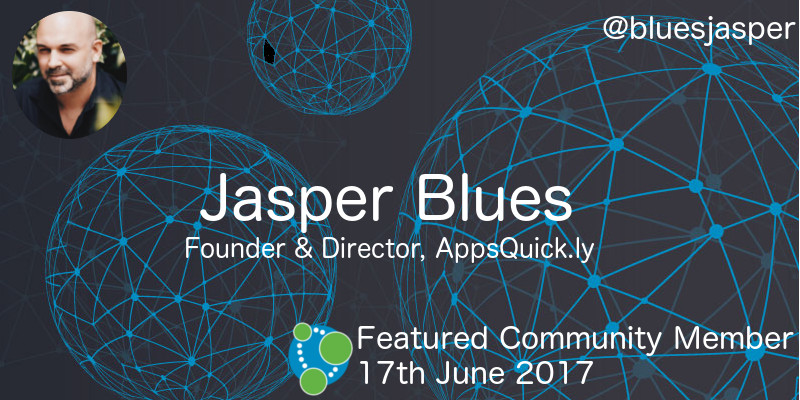 Jasper Blues - This Week's Featured Community Member