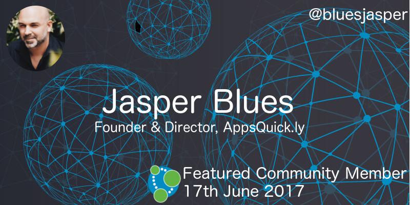 Jasper Blues - This Week's Featured Community Member