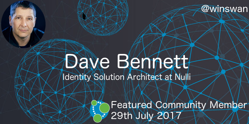 Dave Bennett - This Week's Featured Community Member