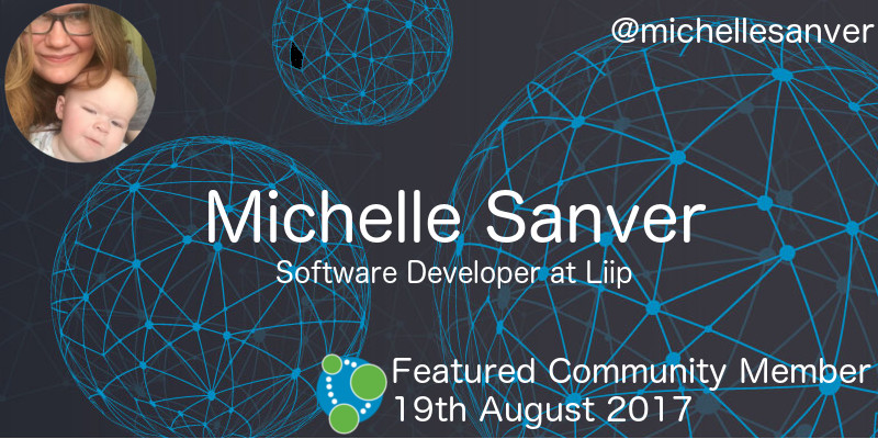 Michelle Sanver - This Week's Featured Community Member