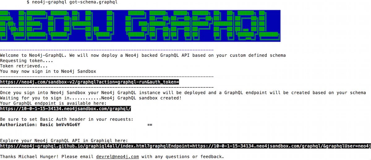 1st Steps with Graphcool's GraphQL Command-Line Interface