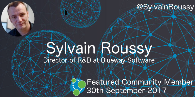 Sylvain Roussy - This Week's Featured Community Member
