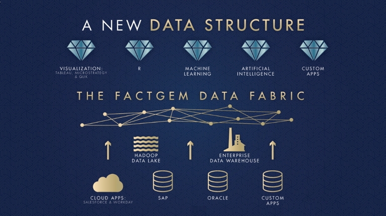 Learn how FactGem's Data Fabric solution empowers data integration across numerous data siloes