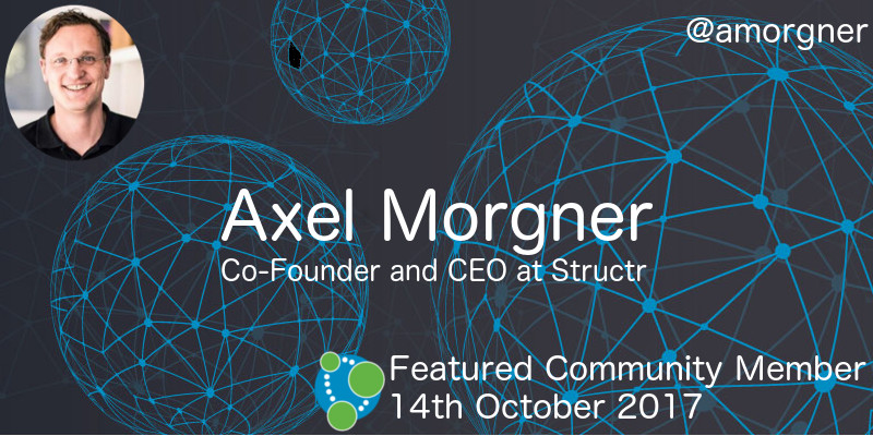 Axel Morgner - This Week's Featured Community Member