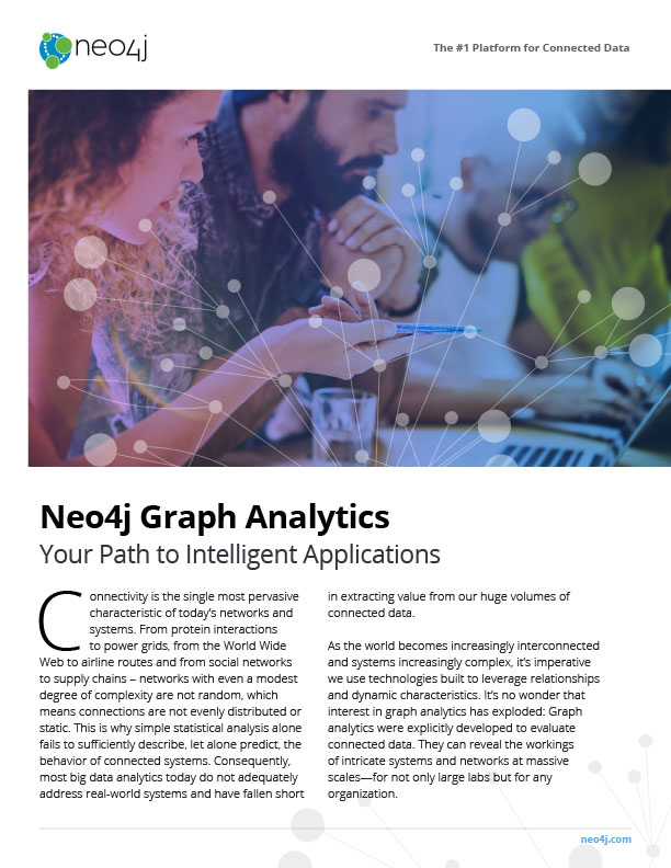 Graph Analytics Pamphlet Cover