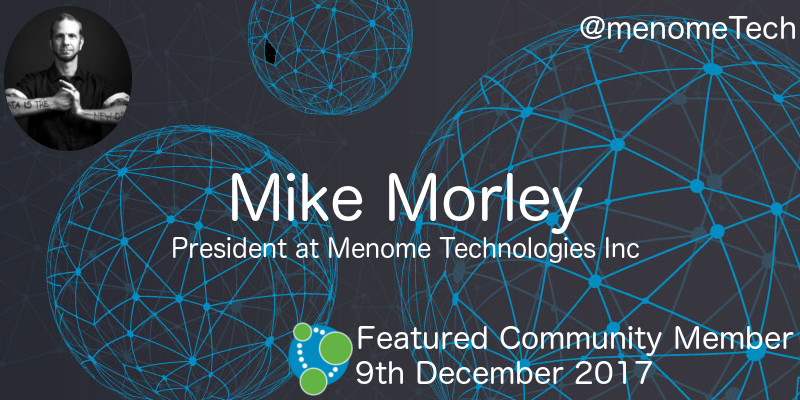 Mike Morley - This Week's Featured Community Member