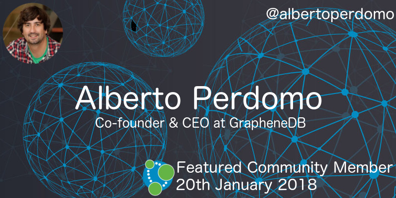 Alberto Perdomo - This Week's Featured Community Member