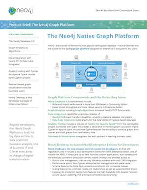 Download this Datasheet: Neo4j Graph Platform Product Brief