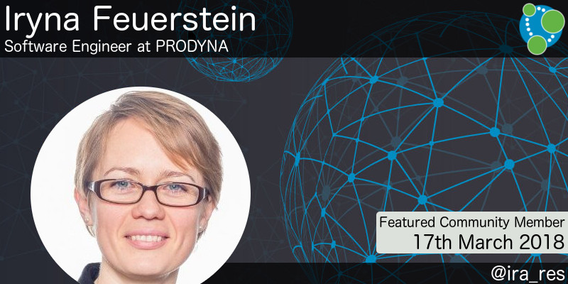 Iryna Feuerstein - This Week's Featured Community Member