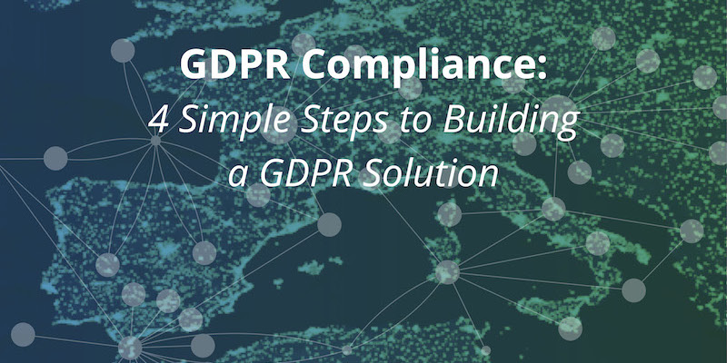 Discover 4 simple steps to building a GDPR compliance solution using Neo4j graph technology
