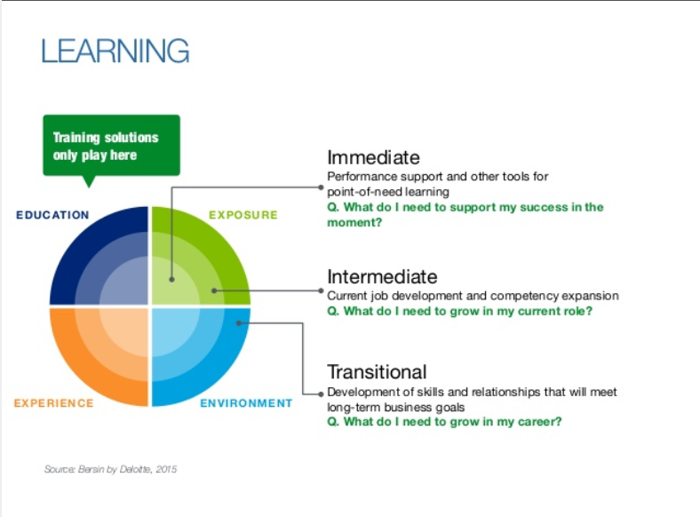 Learning management suite pie chart as it relates to human capital management