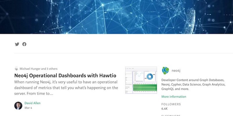 Learn how you're invited to blog with the rest of the Neo4j community in our new Medium publication