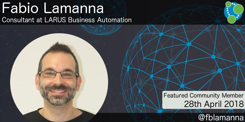 Fabio Lamanna - This Week's Featured Community Member