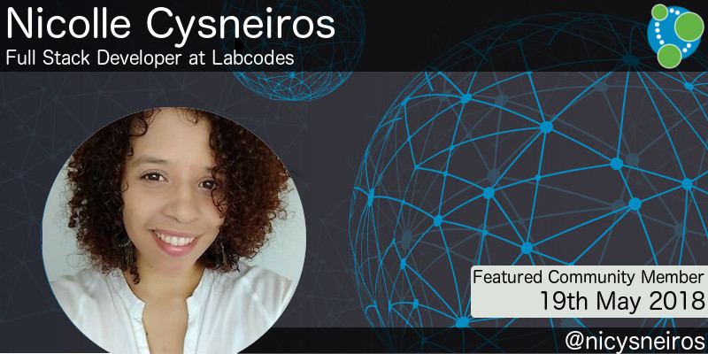 Nicolle Cysneiros - This Week's Featured Community Member